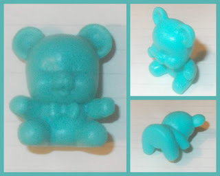 Baby Shower Novelty, Blue Bear, Teddy Bear, Toy Bear, Polyethylene Bear Toy,