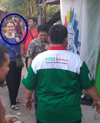 Ana From SASK visit to sekretariat aspek splinfox