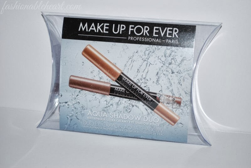 Make Up For Ever aqua shadow duo