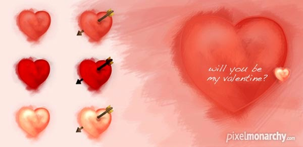 Hand Drawn Valentine Icons