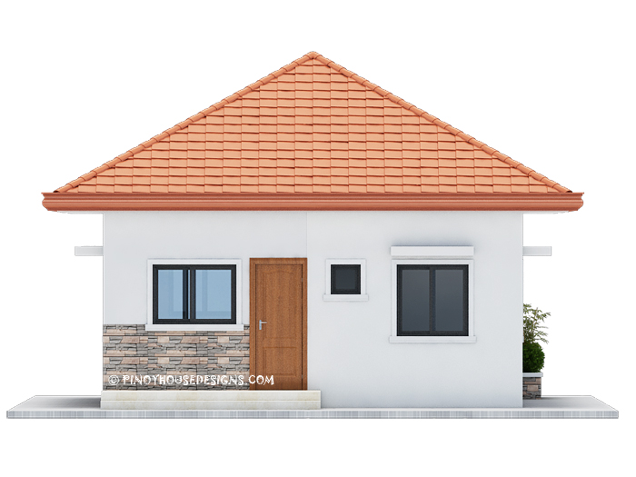 This Is A Three Bedroom Bungalow House Design With 82 Sqm Floor Area And Can Be Erected In 167 Lot Estimated Rough Finished Cost For