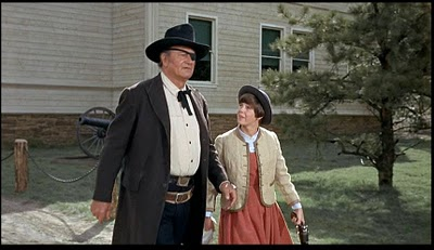Mattie and Rooster True Grit 1969 movieloversreviews.filminspector.com