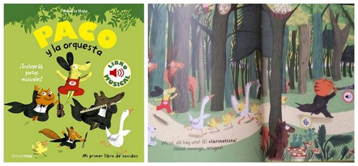 los mejores libros informativos para niños, libros conocimientos música, instrumentos, orquesta