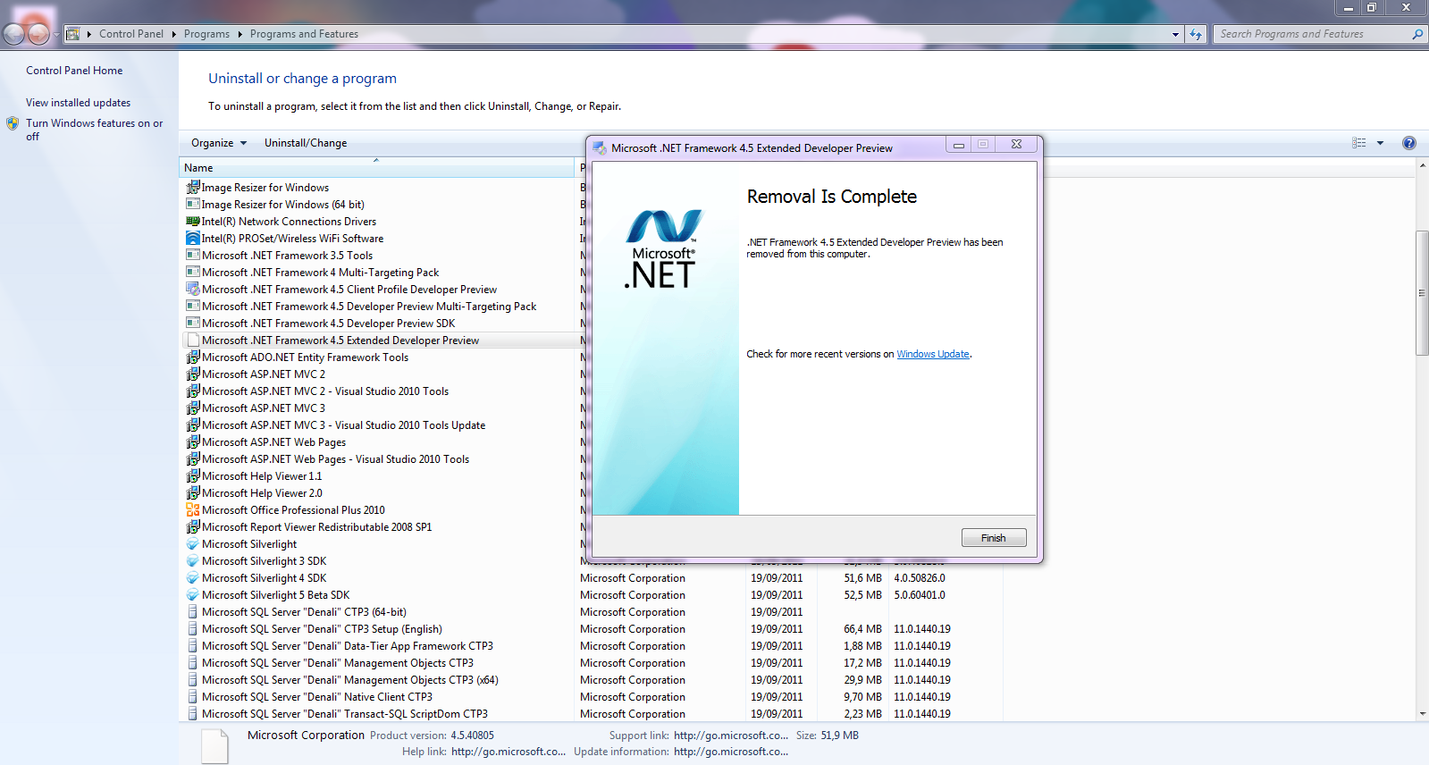 microsoft net 4.5