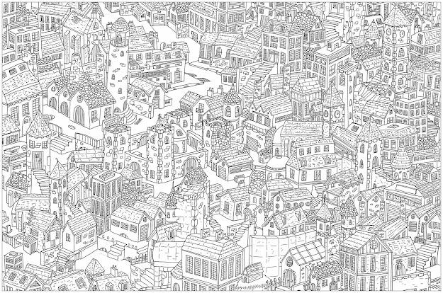 Uthe Cityu Plex Coloring Page Is Waldo