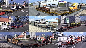 Trailers and Cargo Mod Pack 2.4 by Jazzycat
