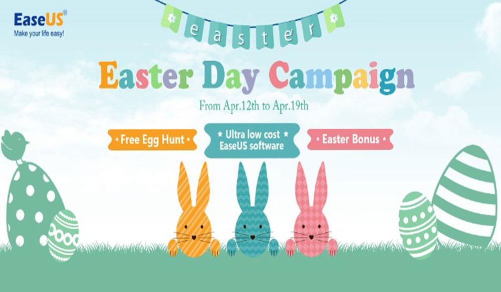 EaseUS'dan Paskalya Gününe Özel Kampanya