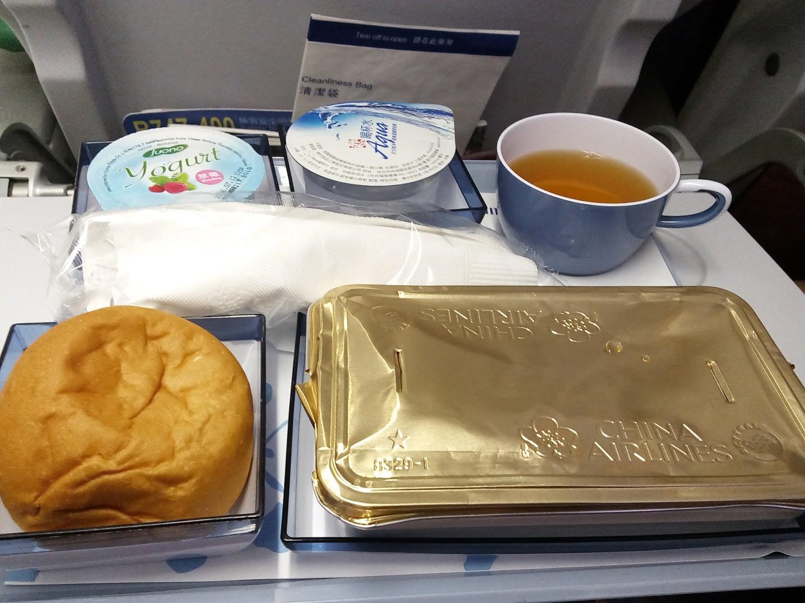 華航-飛機餐