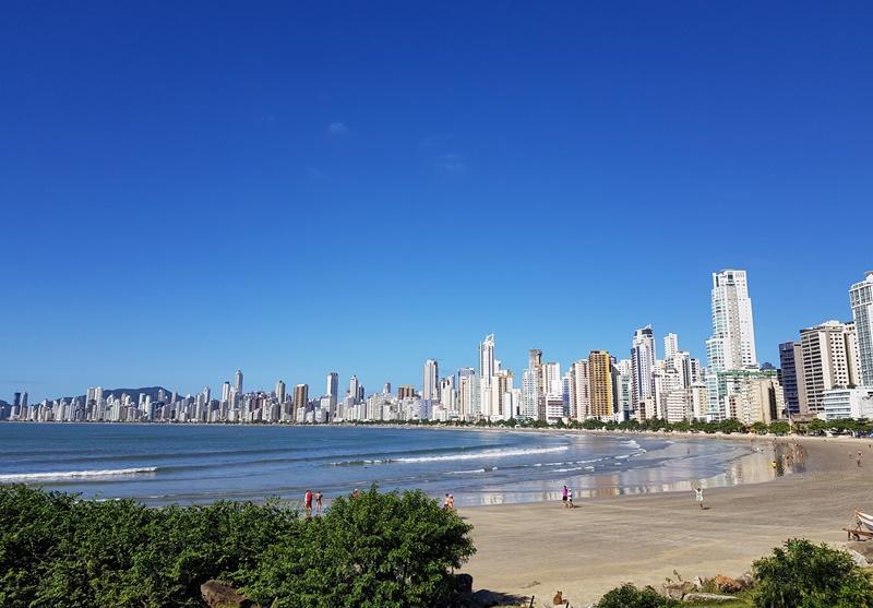 Praia Central em Balneário Camboriú