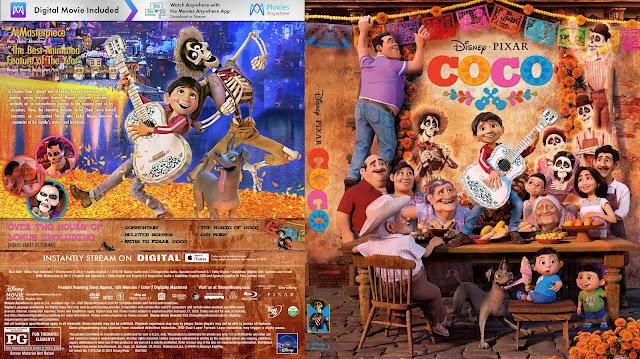 Coco Bluray Cover