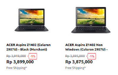 Netbook Murah Acer 2 Jutaan