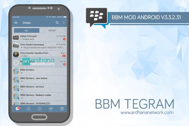 BBM TeGram V3.3.2.31 - BBM MOD Android V3.3.2.31