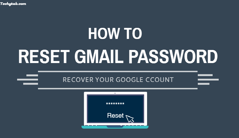 How to set forgot password for gmail