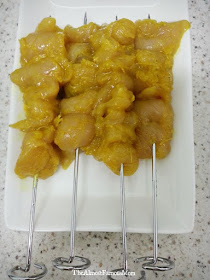 The Almost Famous Mom Airbbq Chicken Satay