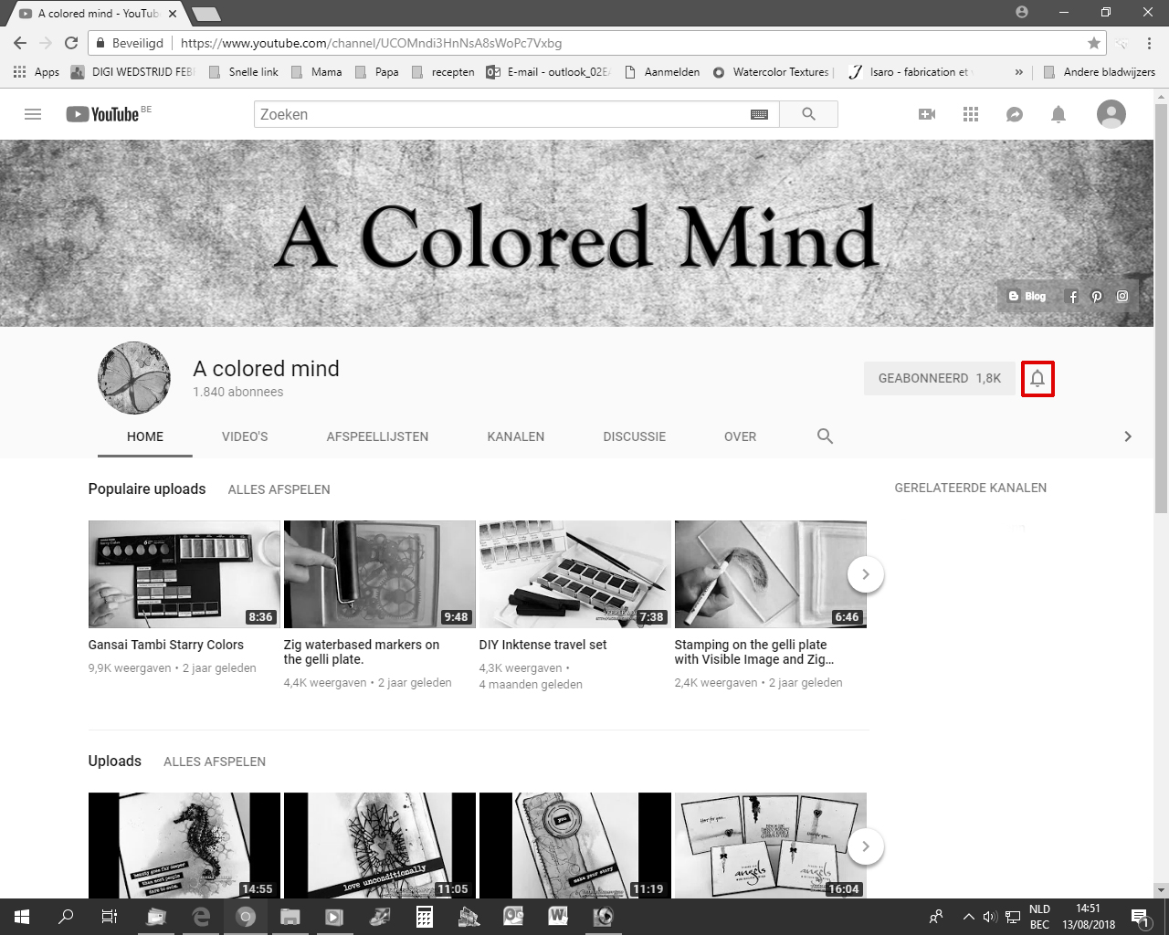 A colored mind