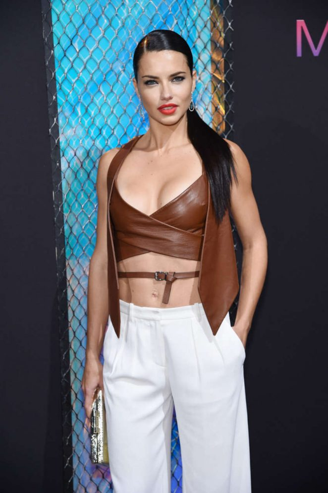 Adriana Lima – Maybelline New York NYFW Kick-Off Party in New York City
