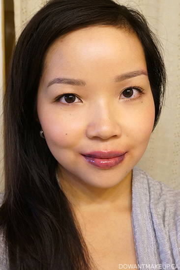 Almay Color + Care Lip Balm in Lilac Love swatches