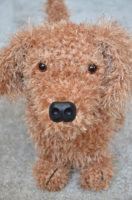 amigurmumi crochet dog dachshund