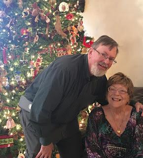 Betty Morton with son-in-law Mark Leonard