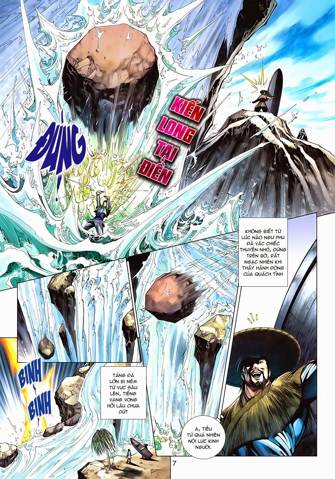 Anh Hùng Xạ Điêu anh hùng xạ đêu chap 72: ngư tiều canh độc trang 7