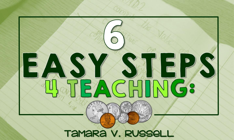 6 Easy Steps for Teaching: Money - Mrs. Russell's Room [ 864 x 1440 Pixel ]