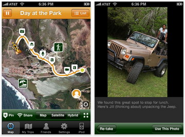 TripCast by Jeep iPhone app available for download