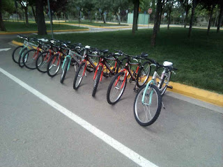 Νέος εξοπλισμός για τους μαθητές του Γυμνασίου στο Πάρκο Κυκλοφοριακής Αγωγής του Δήμου Μοσχάτου-Ταύρου