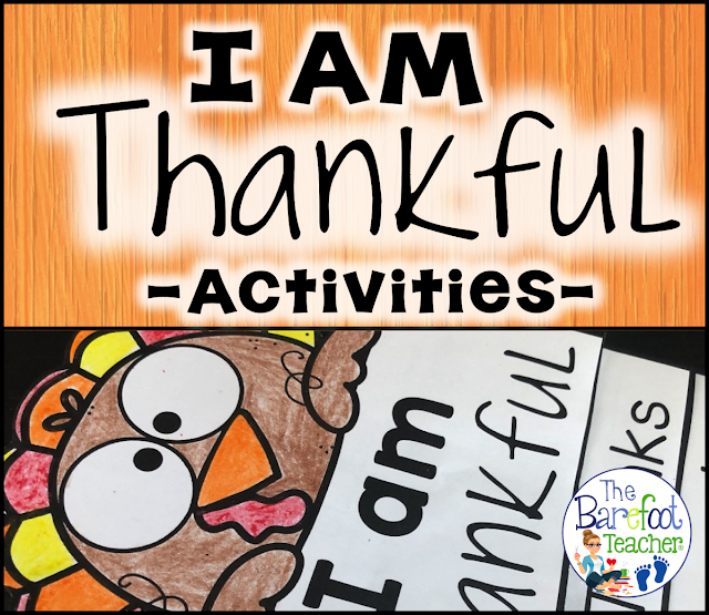 This quick print Thanksgiving 'I Am Thankful' flip book is a perfect addition to the other activities, crafts, and ideas you have planned for your Preschool, Kindergarten, or First grade kids. Plus, get some yummy game ideas to do the week of Thanksgiving!