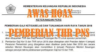 VIRAL! Beredar Surat Keterangan Pers Pemberian Gaji Ke-13 PNS, Begini Penjelasan Kemenkeu