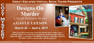 Upcoming Blog Tour 3/26/19