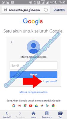 Cara Mengatasi Lupa Kata Sandi Akun Google