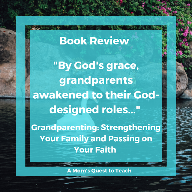 Quote (Grandparents are awakening to their God-designed roles) and image of a swan