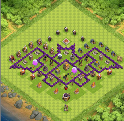 Clash of Clans All Town Hall