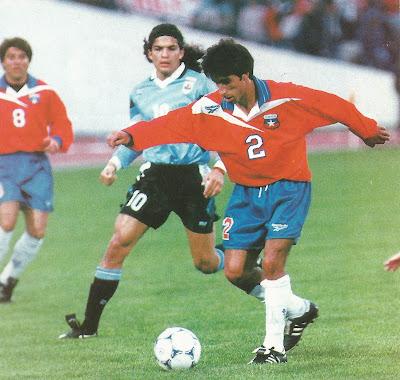 Chile y Uruguay en partido amistoso, 24 de mayo de 1988