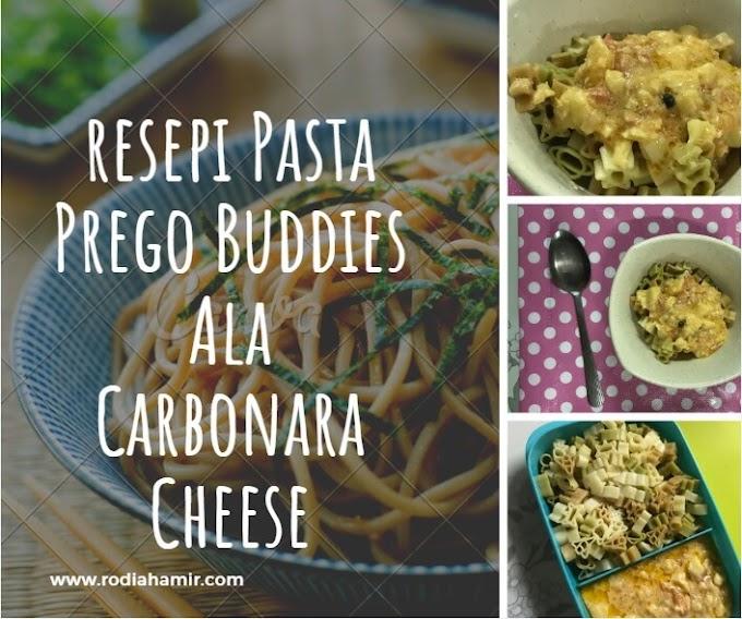 Resepi Pasta Prego Buddies Ala Carbonara Cheese