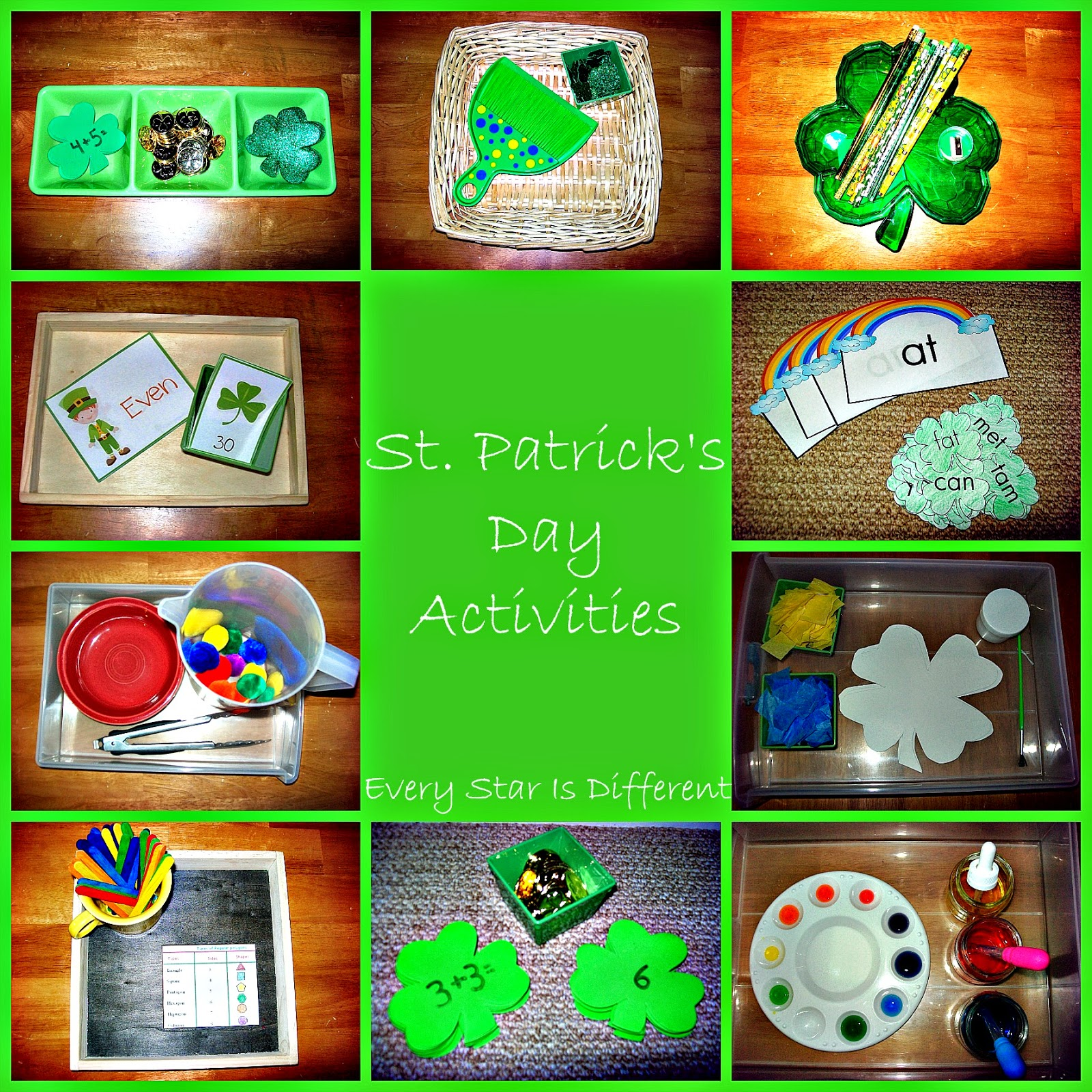 Every Star Is Different St Patrick S Day Activities Amp Free Printables
