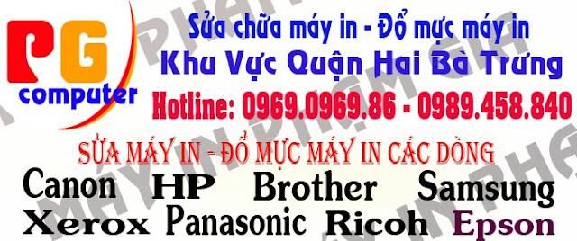 sửa máy in nhanh | đổ mực máy in tại nhà LH 0969.0969.86