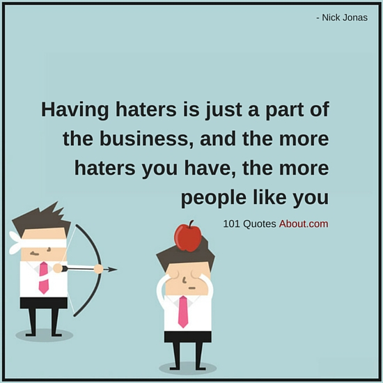 """Haters Quotes"""