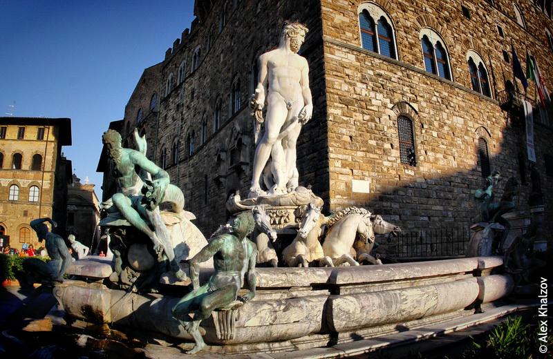 фонтан во флоренции