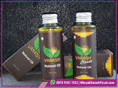 Kegunaan Varash Classic Natural Oil
