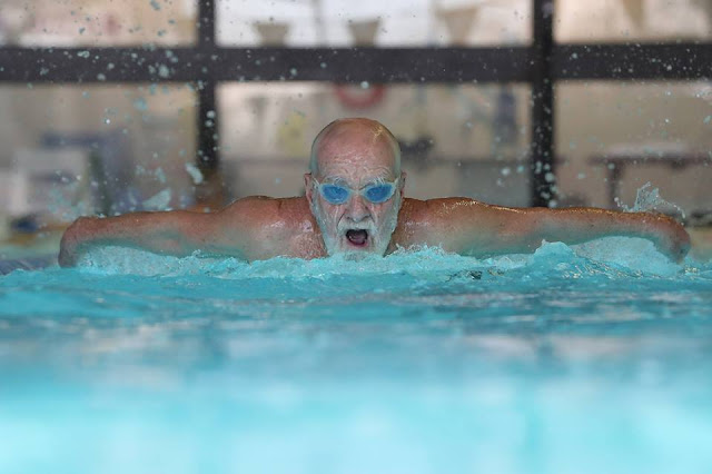 84-year-old Canadian still breaking swim records