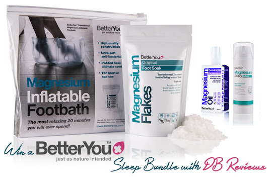 Giveaway | Relax and rejuvenate with BetterYou Transdermal Magnesium sleep bundle!