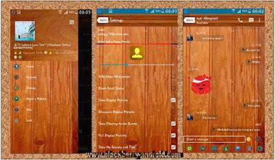BBM Mod Unik Tema Mirip Kayu Based 2.12.0.11 APK