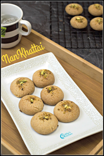 Whole Wheat NanKhatai | Nankhatai Indian Cookies
