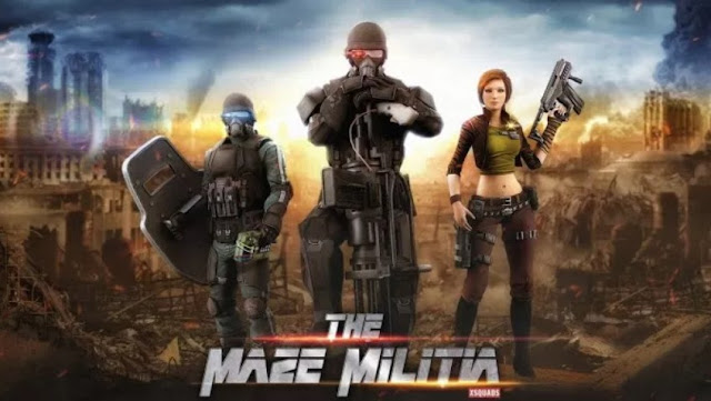 Download MazeMilitia Mod Apk Data Game