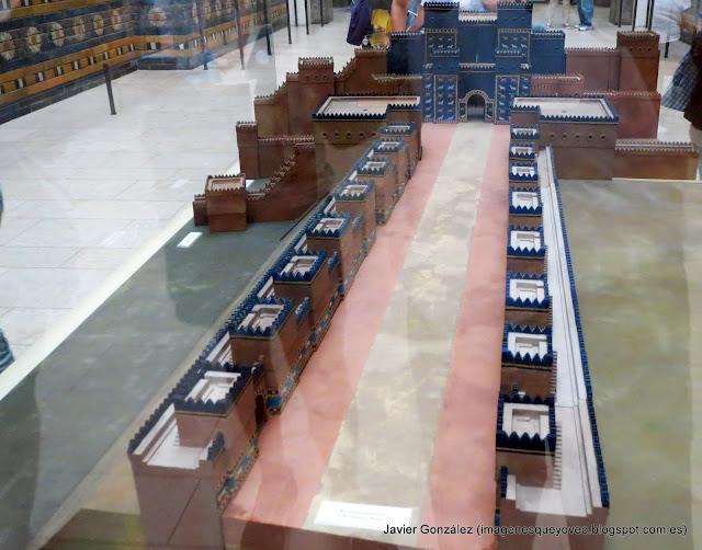 Vía de las Procesiones de Babilonia - Museo Pergamo - Berlín - Pergamon museum
