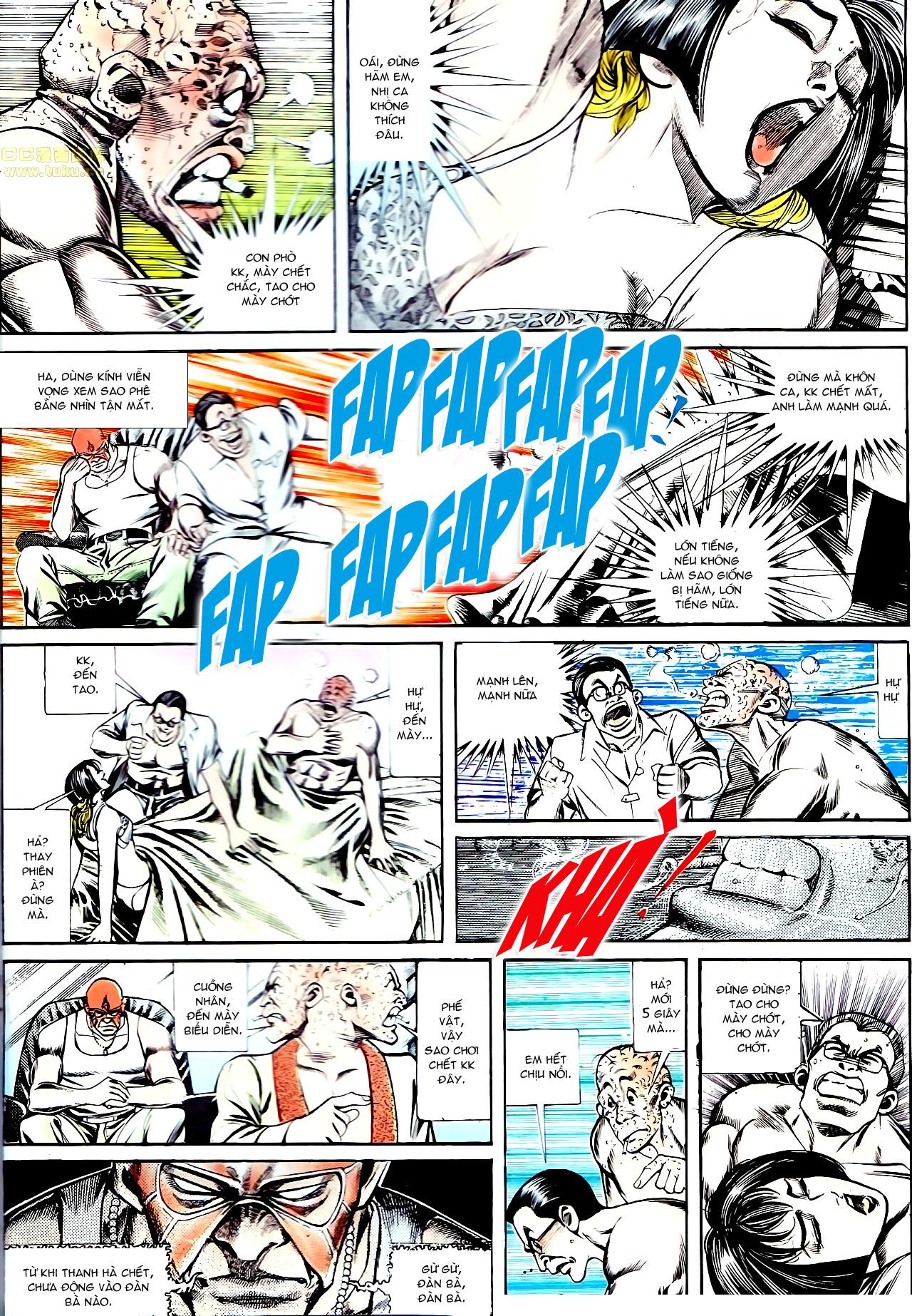 Người Trong Giang Hồ chapter 137: yêu nhất là ai trang 21