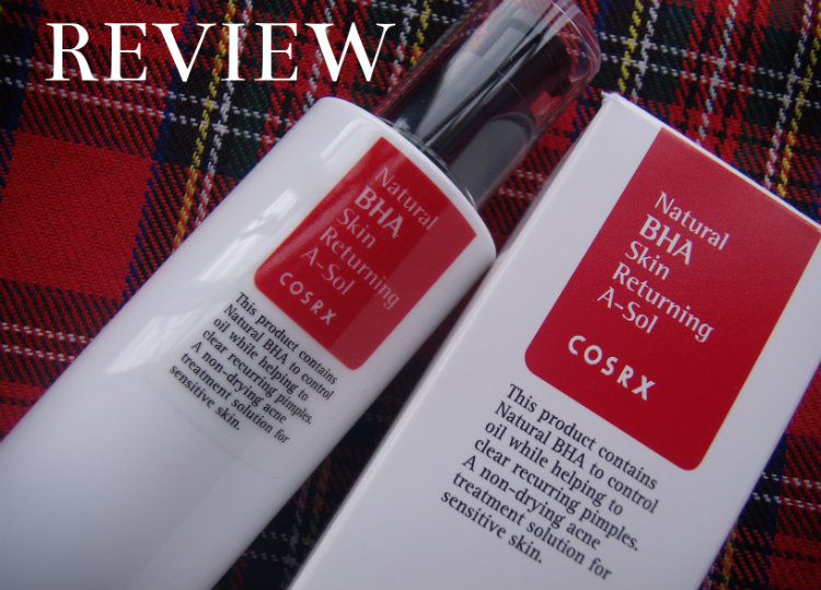 Review, Cosrx Natural BHA Skin Returning A-Sol from Jolse.com