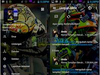 BBM Mod Valentino Rossi Versi 3.0.1.25 Apk Android