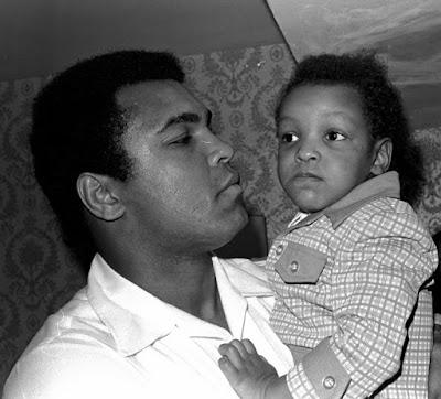 Muhammad Ali dan Puteranya Muhammada Ali Jr